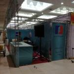برپایی غرفه مطبوعات سازمان منطقه آزاد اروند