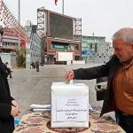 برپایی محل جمعآوری کمک مردمی برای سیل زدگان استان گلستان