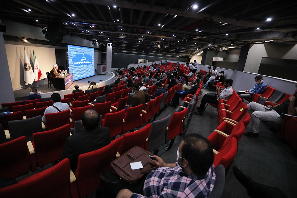 اولین نشست خبری رییس سازمان برگزار شد