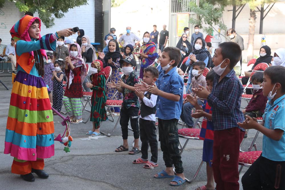 نخستین اجرای قرارگاه جهادی تئاتر کودکان و نوجوانان در اسماعیل آباد