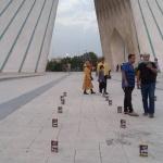 هاتف شهر آسمان تهران را نور باران کرد