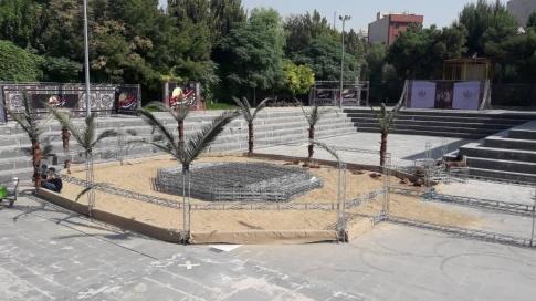 برگزاری مراسم دهه اول محرم در پردیس تئاتر تهران